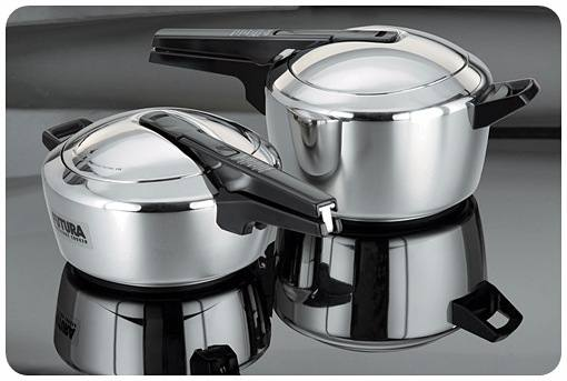 futura stainless steel pressure cooker. Black Bedroom Furniture Sets. Home Design Ideas